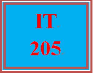IT 205 Week 5 Week Five Knowledge Check | eBooks | Education