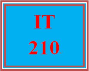 IT 210 Entire Course   eBooks   Education