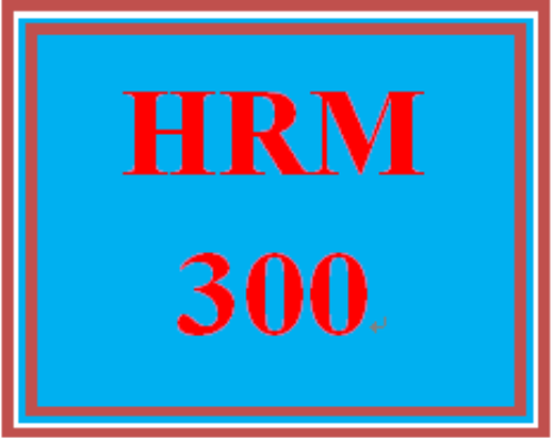 First Additional product image for - HRM 300 Entire Course