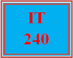 IT 240 Week 9 Individual: Data Protection | eBooks | Education