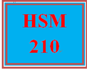 HSM 210 Week 4 Examining Government Regulations | eBooks | Education