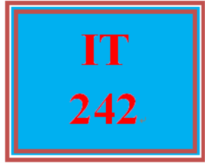 IT 242 Week 6 Router and Switch Configuration | eBooks | Education