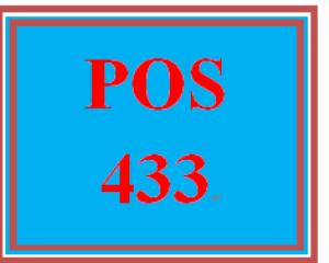 POS 433 Week 3 Linux® Script Worksheet | eBooks | Education