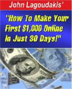 how to make $1000.00 in 30 days