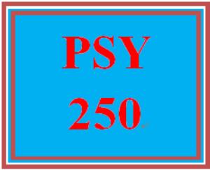 PSY 250 Week 1 Personality Reflection Worksheet | eBooks | Education