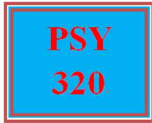 PSY 320 Week 4 Goal Setting Podcast | eBooks | Education