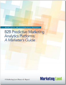 b2bb predictive marketing analytics platforms