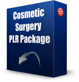 cosmetic surgery plr package
