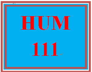 hum 111 week 1 knowledge check