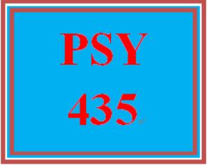 PSY 435 Week 2 Learning Team Charter | eBooks | Education