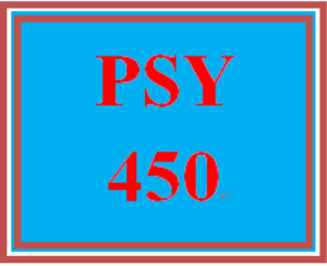 PSY 450 Week 3 Psychological Disorder Paper | eBooks | Education