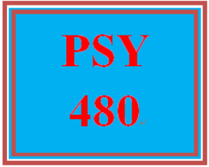 PSY 480 Week 2 Quiz | eBooks | Education