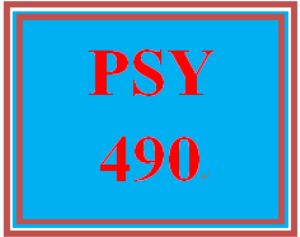 PSY 490 Week 2 Psychological Issue Summary | eBooks | Education