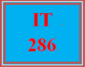 IT 286 Entire Course | eBooks | Education