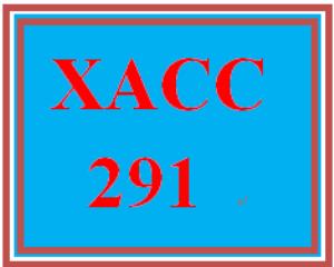 XACC 291 Week 8 Individual Exercises | eBooks | Education