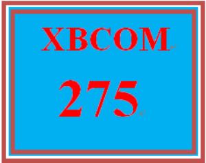 XBCOM 275 Week 4 Debate Paper Outline | eBooks | Education