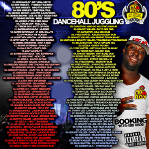 Dj Roy 80's Dancehall Juggling Mix | Music | Reggae