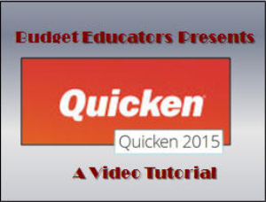 Quicken 2015 Video Tutorial-Getting Started | Movies and Videos | Educational
