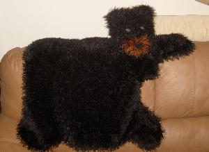 Bear Hug Rug-Hand Knitting Pattern PDF | Crafting | Knitting | Other