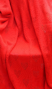 Lacey Hearts Adult Blanket-Hand Knitting PDF Pattern   Crafting   Knitting   Other