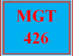 MGT 426 Week 2 Managing Change Paper Part I | eBooks | Education