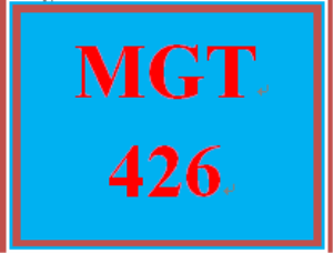 MGT 426 Week 2 Roles of Managers and Individuals Paper | eBooks | Education