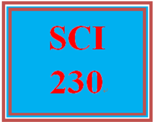 SCI 230 Entire Course | eBooks | Education