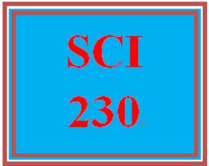 SCI 230 Entire Course | eBooks | Education