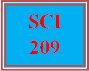 SCI 209 Entire Course | eBooks | Education