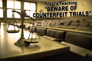 beware of counterfeit trials