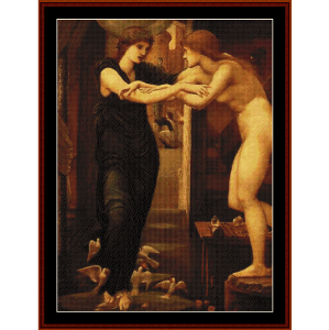 The Godhead Fires, 1870 - Burne-Jones cross stitch pattern by Cross Stitch Collectibles | Crafting | Cross-Stitch | Wall Hangings