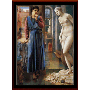 The Hand Refrains - Burne-Jones cross stitch pattern by Cross Stitch Collectibles | Crafting | Cross-Stitch | Wall Hangings