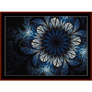 Fractal 568 cross stitch pattern by Cross Stitch Collectibles | Crafting | Cross-Stitch | Wall Hangings