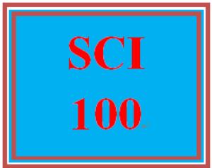 SCI 100 Week 1 Stress Survey   eBooks   Education