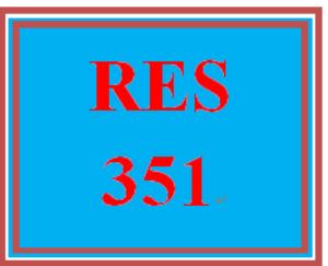 RES 351 Week 1 Understanding Business Research | eBooks | Education