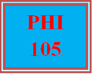 PHI 105 Week 1 Open-Book Philosophy Quiz | eBooks | Education