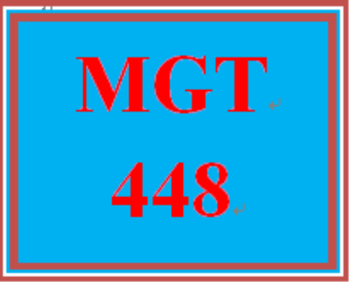 First Additional product image for - MGT 448 Week 1 Globalization Questionnaire