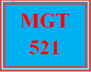 MGT 521 Week 6 Learning Team Reflection | eBooks | Education