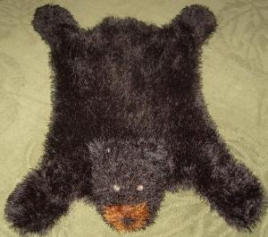 Bear Hug Rug-Machine Knitting Pattern PDF | Crafting | Knitting | Baby and Child