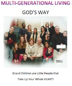 multi generational living  god's way