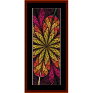 Fractal 567 Bookmark by Cross Stitch Collectibles | Crafting | Cross-Stitch | Other