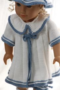DollKnittingPattern 0150D SOPHIA (June) - Dress, pants, hat and socks-(English) | Crafting | Knitting | Other