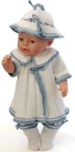 DollKnittingPatterns 0150D SOPHIA - Jurkje, broekje, muts en sokjes-(Nederlands) | Crafting | Knitting | Other
