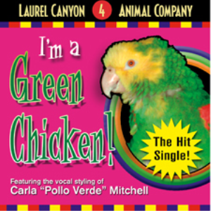 i'm a green chicken