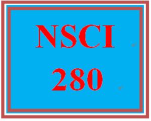 NSCI 280 Week 4 Quiz | eBooks | Education