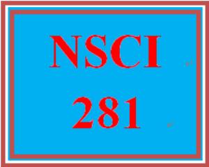 NSCI 281 Week 2 Ph.I.L.S. Activities | eBooks | Education