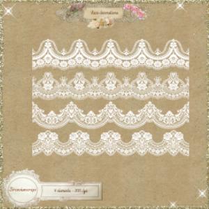 lace decorations