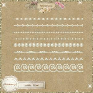 pearl decorations