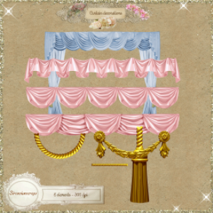 curtain decorations