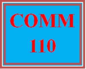 COMM 110 Week 3 Demonstration Presentation | eBooks | Education